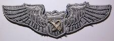 Vintage / Real USAF Bullion Astronaut Wing - Late 50s - 1960s - PS