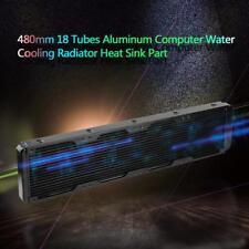 480mm 18 Tubes Water Discharge Liquid Heat Exchanger Radiator PC Water Cooling