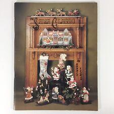 Santa Classic decorative tole painting pattern book Christmas Bonnie Seaman