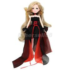 Black 30 Joints Vinyl Ball Jointed BJD Doll-Making Various Postures Toy Gift