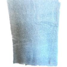 Vintage Blue Mohair Throw