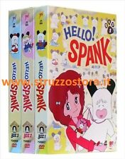 Hello Spank ! BOX Volume 1-2-3 ( 12 DVD ) Cofanetto Serie Completa Hello Spenk