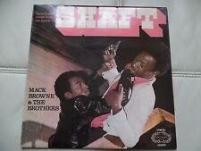 Mack Browne & los hermanos Eje Lp 1971 Reino Unido Sello SHM763