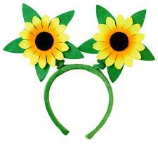 Sierra Sonnenblumen Haarreif NEU - Karneval Fasching Hut Mütze Kopfbedeckung