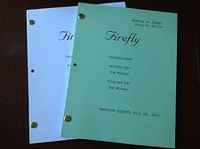 "FIREFLY TV Series Script ""Bushwhacked"" EPISODE NATHAN FILLION 7/18/2002"