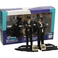 The Blues Brothers Elwood e Jake Box 2 Movie statue figure set Diorama SD toys