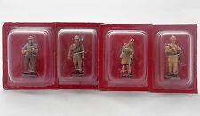 Lot 4 Figurine Hachette Guerre Mondiale 1914 G.-B. Artilleur Ecossais Pionnier