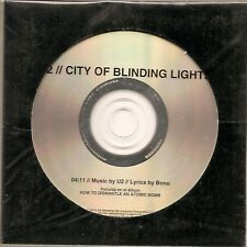 "U2 ""City Of Blinding Lights"" Mexiko 1 Track Promo CD"