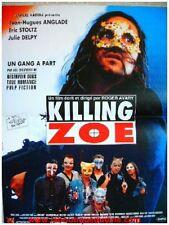 KILLING ZOE Affiche Cinéma / Movie Poster JEAN HUGUES ANGLADE / ERIC STOLTZ