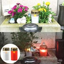LED 2PCS SOLAR ELECTRIC SMOKELESS TEALIGHTS PARTY WEDDING VOTIVE FAKE CANDLES
