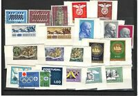 Portugal and Macau Used Stamps | 22 stamps different decades | no repetition