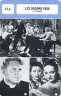 Fiche Cinéma évènements. Movie Card Events. Les Oscars 1938 (USA) 11e année