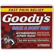 Goodys Back - Body Pain Powders 24 ea (Pack of 5)