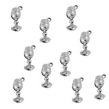 10 x Tibetan Silver 3d Wine Goblet Pendant Charms Harry Potter