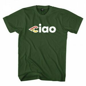 Cinelli Ciao T-Shirt Green