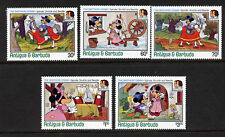 Antigua 896-900 MNH Disney, Brothers Grimm, Horse, Castle