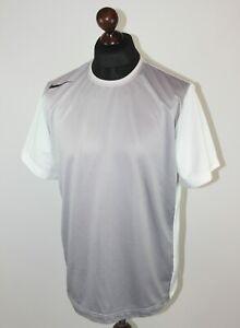 Nike Court Nadal Federer style tennis grey shirt Size L
