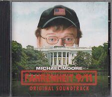 Farenheit 9/11 -Soundtrack CD -Michael Moore -V/A -J J Cale/Jethro Tull/REM