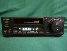 SONY EV-A50 VIDEO 8 Video8 8 mm Cassette Recorder Player  (AS-IS) Part or Repair
