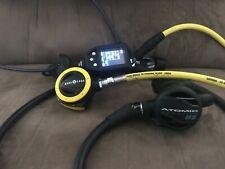 New listing scuba diving regulator computer and dive light