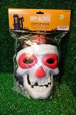 Happy Halloween Light up Mask Color Changing LED Lights