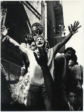 Sicilia Ragusa territorio Processione Foto originale Giuseppe Leone 1970c L828