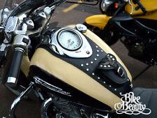 (S) YAMAHA ROYAL STAR XVZ 1300 LEATHER TANK Panel Pad Cover Strap Chap Bra Bib