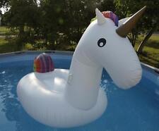 Giant inflatable unicorn Riesiges aufblasbares Einhorn  Luftmatratze 270x140x120