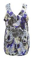 Lagenlook V Neck Tunic Dress Boho Hippie Beach Size 16 18 20 22 24