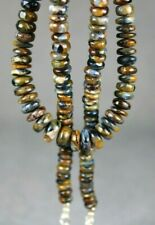 dkd#2G/ 142cts  Natural Pietersite Necklace/Beads