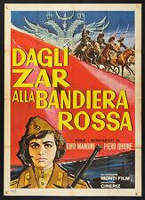 MANIFESTO, DAGLI ZAR ALLA BANDIERA ROSSA, DOCUMENTARIO LENIN TROTSKY ROMANOFF
