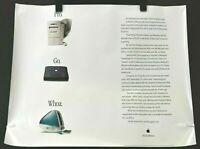 "Classic Apple iMac Poster/""Yum./""Multiple SizesReproduction"