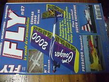 ?µ µ? Revue Fly n°87  avec plan encarté Super Chipmunk / Cougar 2000 Predator