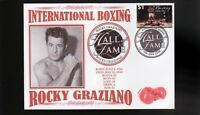 ROCKY GRAZIANO INTER BOXING HALL OF FAME INDUCTEE COVER