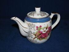 A-Price Import (Japan) 2 Cup Porcelain Teapot Tea Pot  White / Blue / Gold  CS17