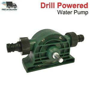 Compact Drill Powered Water Pump For Ponds Leak Flooded Rooms Strong Robust