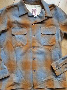 Chemise Levi's vintage clothing M rockabilly shirt plaid western Pendleton