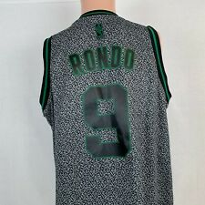Adidas Rajon Rondo Boston Celtics Swingman Jersey NBA Basketball Sewn 2010 M