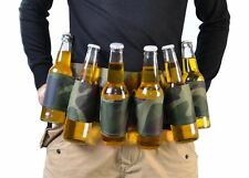 Six Pack of Beer Belt Party Stag Do Drinking Game Can & Bottle Holder