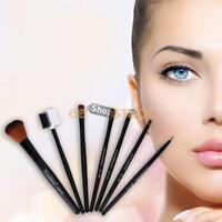 Pinceaux Maquillage Nylon Cosmétiques Fondation 7 pcs/kits Semi Professionnel