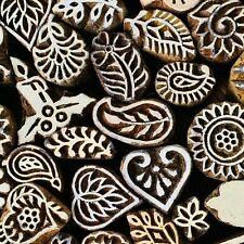 Wood pottery Stamps Set 50 pattern Textile Clay soap stamp, carved Ceramic stamp