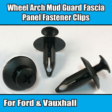 20x Clips for Ford Vauxhall Wheel Arch Mud Guard Fascia Panel Plastic Fastener