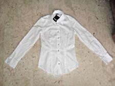 Camicia AND IN COTONE STRECH CON BOTTONE GIOIELLO   Tg  XS NUOVA CON ETICHETTA
