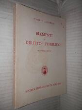 ELEMENTI DI DIRITTO PUBBLICO Roberto Lucifredi Societa editrice Dante Alighieri