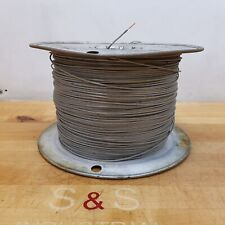 16 AWG Stranded Copper Wire, Approximately 2800 Feet, Grey - USED