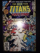 The New Teen Titans #12 (Oct 1981, DC) FN/VF