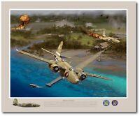 A-20 Havoc Aviation Art Prints The Joker by Jack Fellows