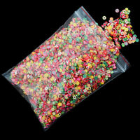 1000pcs 3D Nail Art Fruit Fimo Slices Polymer Clay DIY Slice Decoration Smile