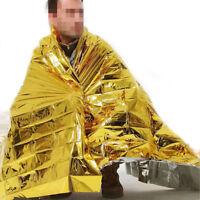 Sécurité de survie couverture solaire d'urgence isolant Mylar thermique