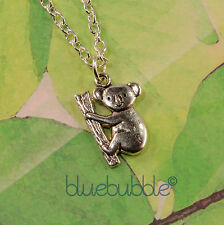 FUNKY KOALA NECKLACE CUTE KITSCH SWEET OZ ANIMAL COOL FUN NOVELTY RETRO ZOO GIFT